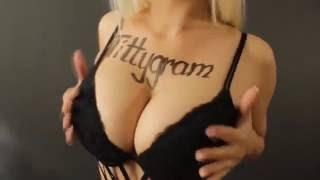 Реклама, поздравление, послание на женской груди - модель Tittygram №3
