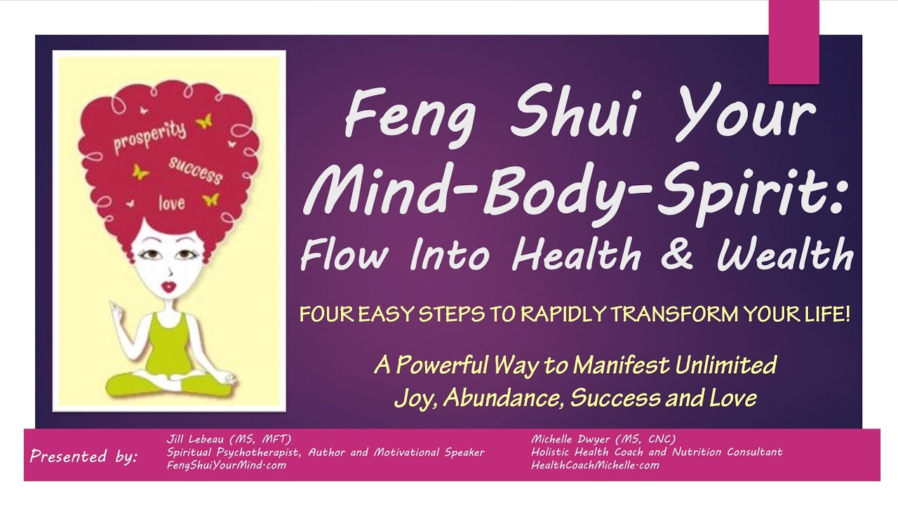 Feng Shui For Health introduction to feng shui your mind-body-spirit: flow into health