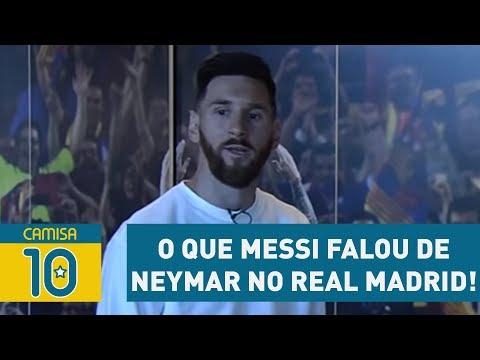 OLHA O Que MESSI Falou De NEYMAR No REAL MADRID!