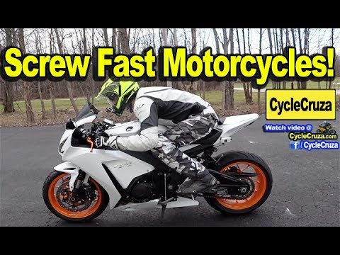 SCREW Fast Motorcycles!   MotoVlog
