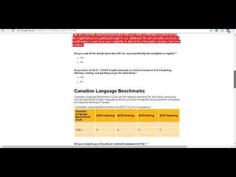 Как регистрироваться на выездную сессию провинции New Brunswick для иммиграции в Канаду