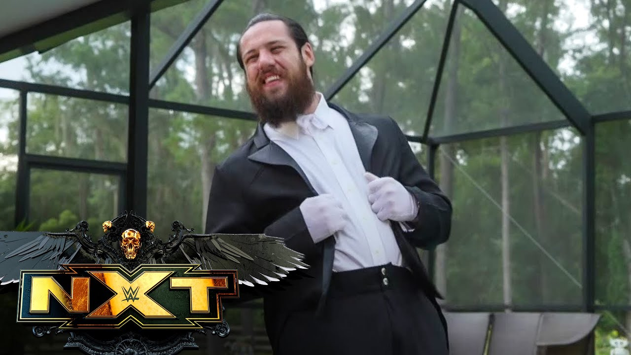 Cameron Grimes relishes his new role as LA Knight's butler: WWE NXT, July 13, 2021 - YouTube