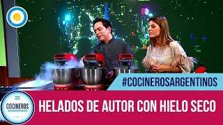 Helados artesanales de autor con hielo seco (1 de 2) - Cocineros de Noche