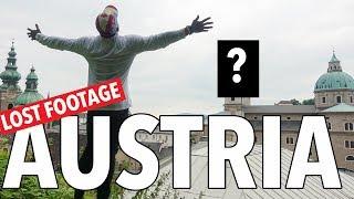 Travel Vlog 2 of 2: Lost Footage - Eating my Way thru Salzburg, Austria