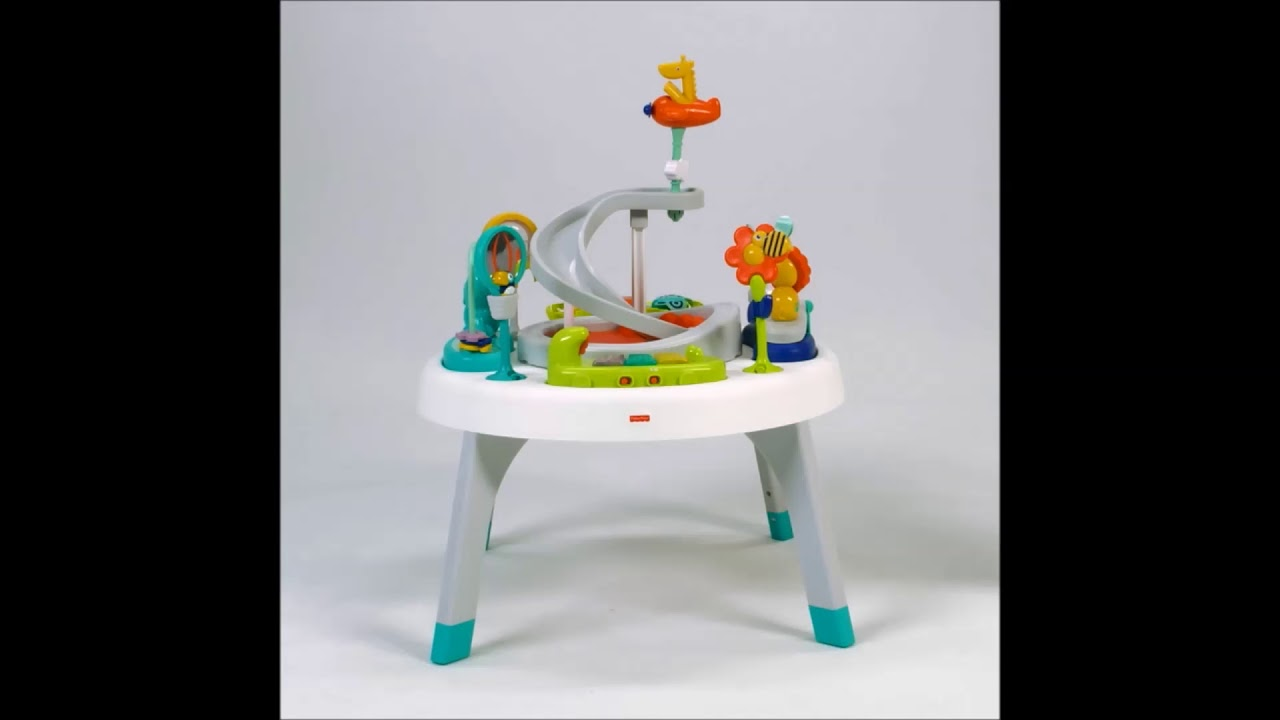 efd8d60eb Smyths Toys - Fisher-Price 2-in-1 Sit-to-Stand Activity Centre - YouTube