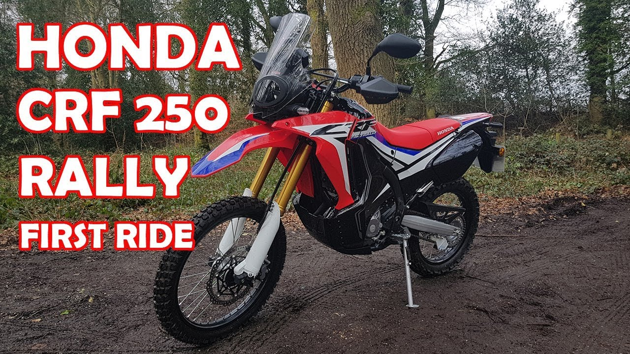 honda crf 250 rally review first ride youtube. Black Bedroom Furniture Sets. Home Design Ideas