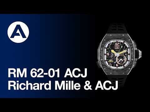 ACJ launches new watch with Richard Mille