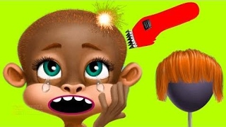 Fun Animals Care - Makeover Learn Colors Kids Game for Girls - Hair Salon Manicure Gameplay