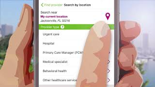 Humana Military App - FIND PROVIDER
