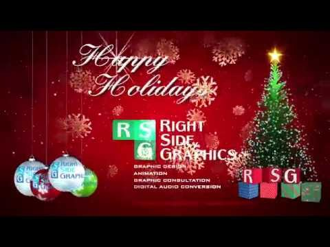 Happy Holidays from Right Side Graphics H264