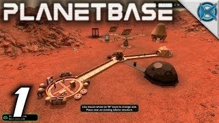Planetbase Gameplay / Let's Play (S-1) -Ep. 1-