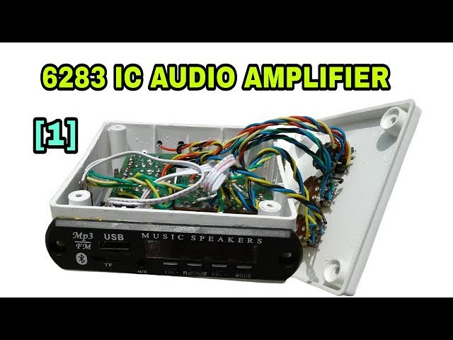 Assembling of CD6283 ic audio amplifier part 1 in hindi. From [Technical Mriganka]