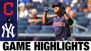 Indians vs. Yankees Highlights (9/19/21) | MLB Highlights