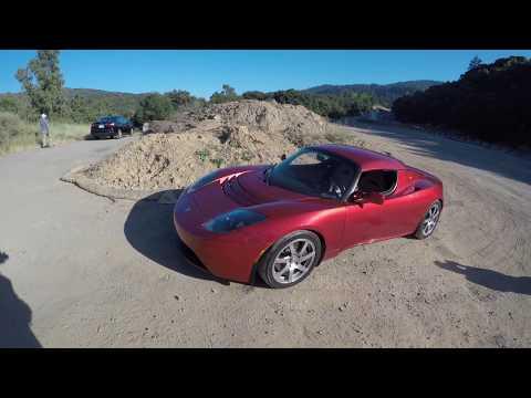 Tesla Roadster 3.0 Test Drive - Electrek