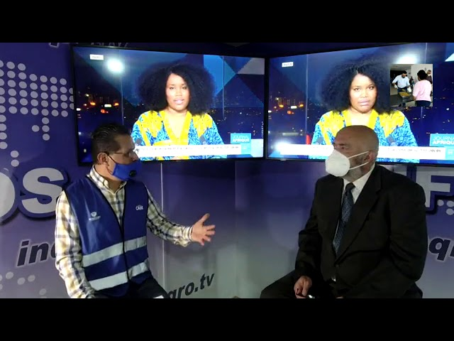 Entrevista con el Delegado de Epigmenio González, Alejandro Delgado Oscoy