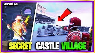 😲 How To EASILY Glitch Inside NEW SECRET ICEBERG CASTLE In Fortnite Season 7! (New Season 7 Glitch)
