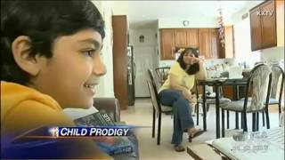 9-year old college student stars in child prodigy show 2017 Video