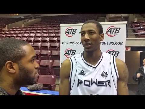 Mississauga Powers' Marcus Capers Post Game Interview vs Windsor Express