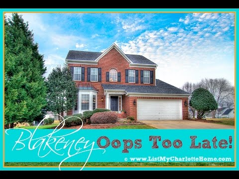 HOT NEW BLAKENEY HOME UNDER CONTRACT - 28277