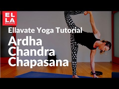 Yoga Tutorial   How To Do Ardha Chandra Chapasana