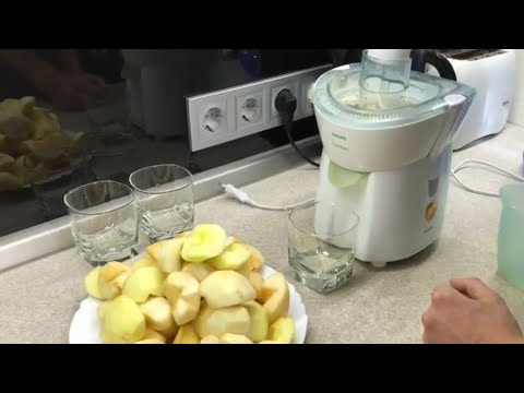 Как правильно выжимать сок из яблок в соковыжималке