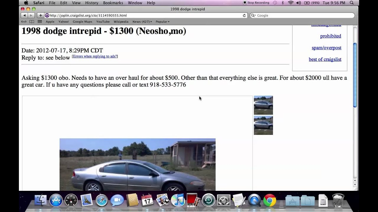 Used Trucks For Sale >> Craigslist Joplin Missouri Used Cars and Trucks - For Sale ...