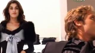 Elisa isoardi: vestito cortissimo
