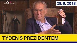 Prezident Zeman prohrál sázku! Nová vláda, kauza Rath a další témata v pořadu Týden s prezidentem