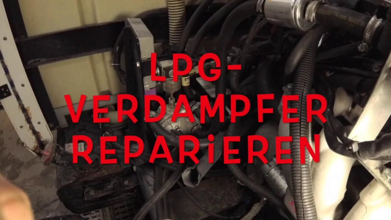 LPG Autogas Reparatursatz Verdampfer BRC Genius