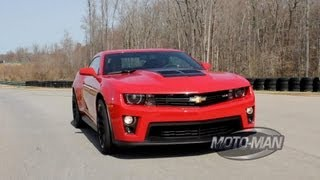 Chevy Camaro ZL1 on the Track with Chief Engineer Al Oppenheiser