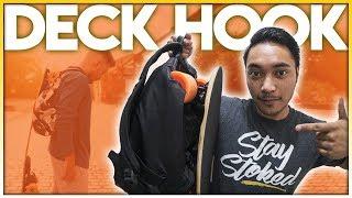 Best Skate Backpack Ever: Deck Hook Review (2018)