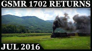 Great Smoky Mountains 1702: Steam Returns to the Smokies