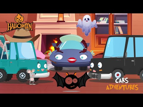 Cars Adventures #11 Haunted house Ghostbusters new halloween adventure