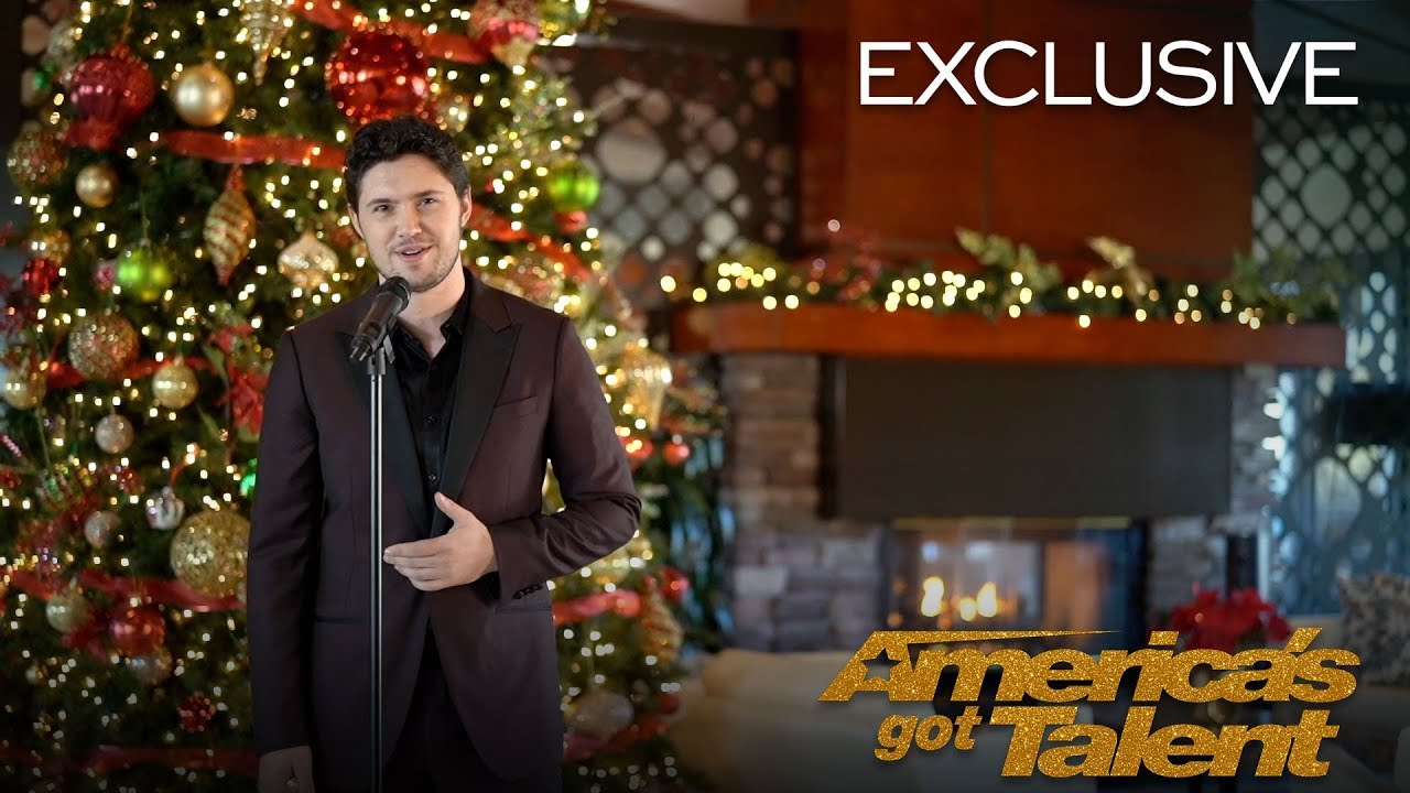 Americas Got Talent Christmas.O Holy Night A Powerful Cover By Daniel Emmet America S Got Talent 2018