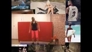 4 супер упражнения для похудения ног и бедер