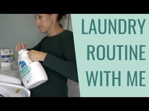 My Green Clean Laundry Routine 2018 | Best Chemical Free Laundry Detergents