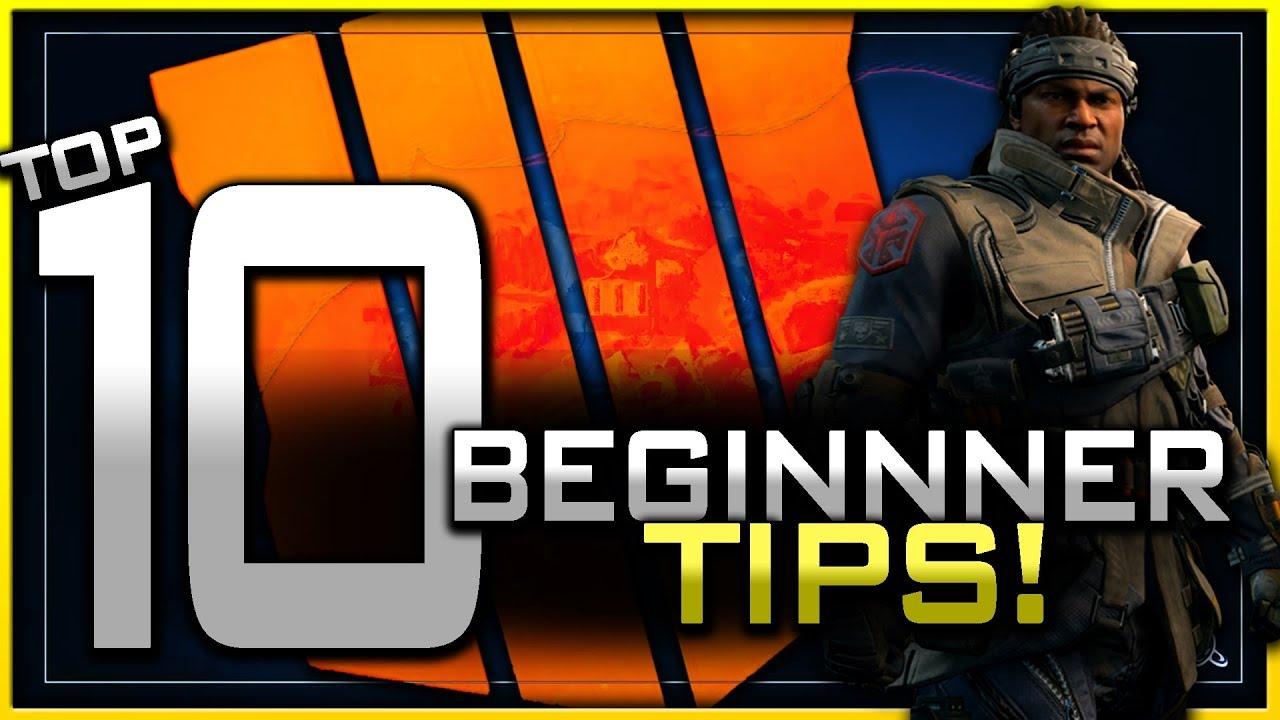 Top 10 Beginner Tips for Black Ops 4 Multiplayer!