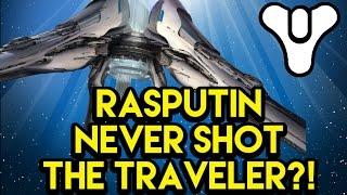 Destiny Lore Rasputin NEVER Shot the Traveler   Myelin Games