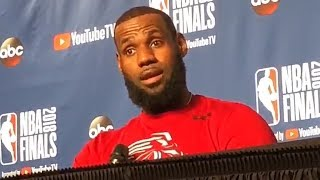 LeBron James Reacts To Viral Bench Video Of Him Learning Cavaliers Still Had A Timeout vs Warriors