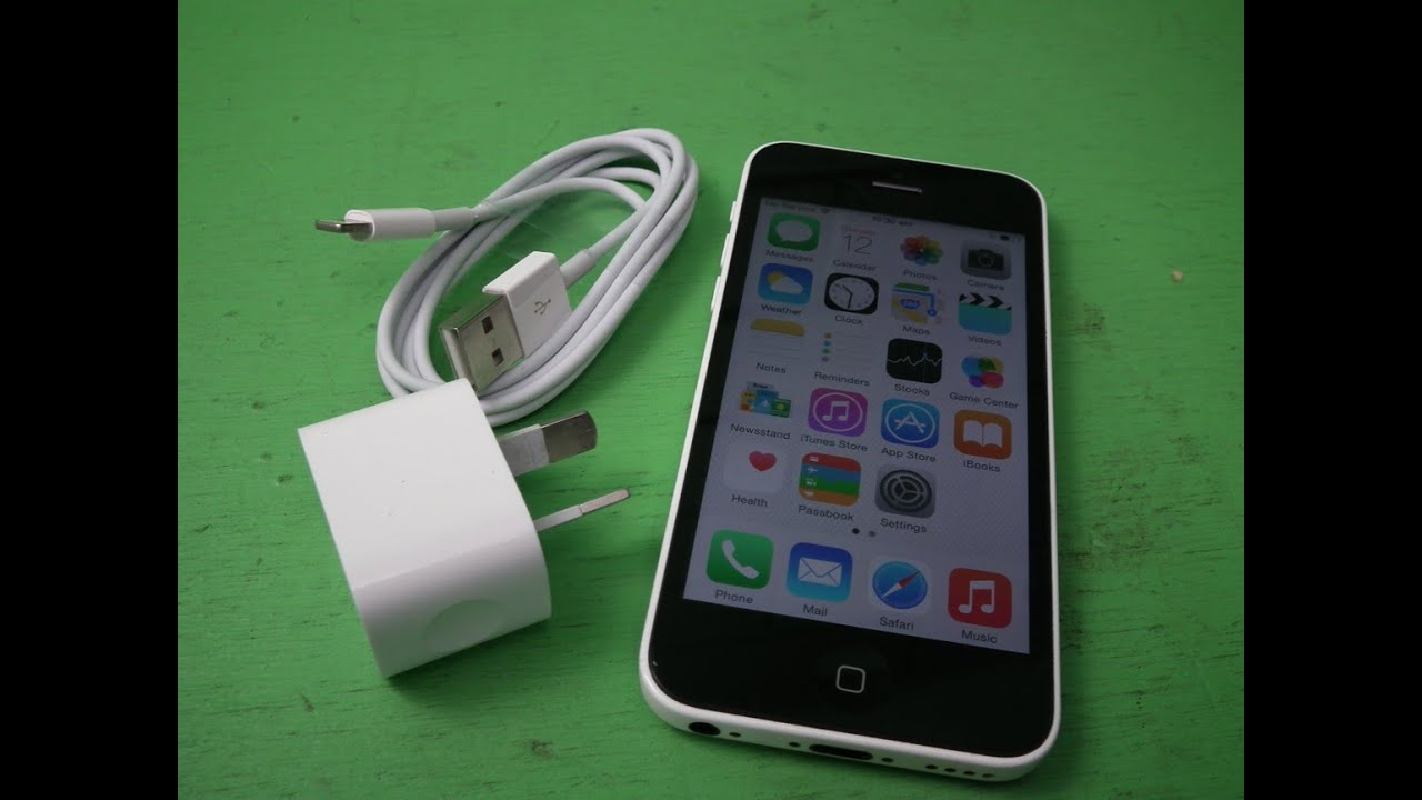 P70355 Apple Iphone 5c 8gb White Smartphone Mg132xa Factory Unlockedapple Warranty