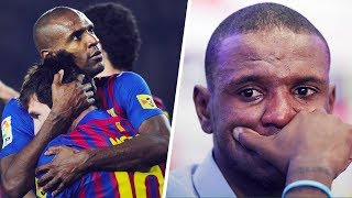 """The heartbreaking reason why Messi told Eric Abidal """"he looked like a corpse"""" - Oh My Goal"""