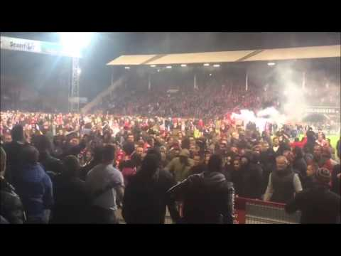 Riots: Royal Antwerp – Eupen 30.04.2016
