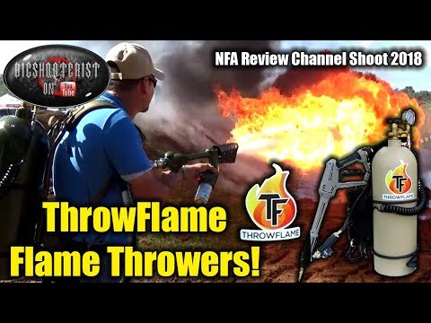 ThrowFlame Flame Thrower Interview and Demonstration