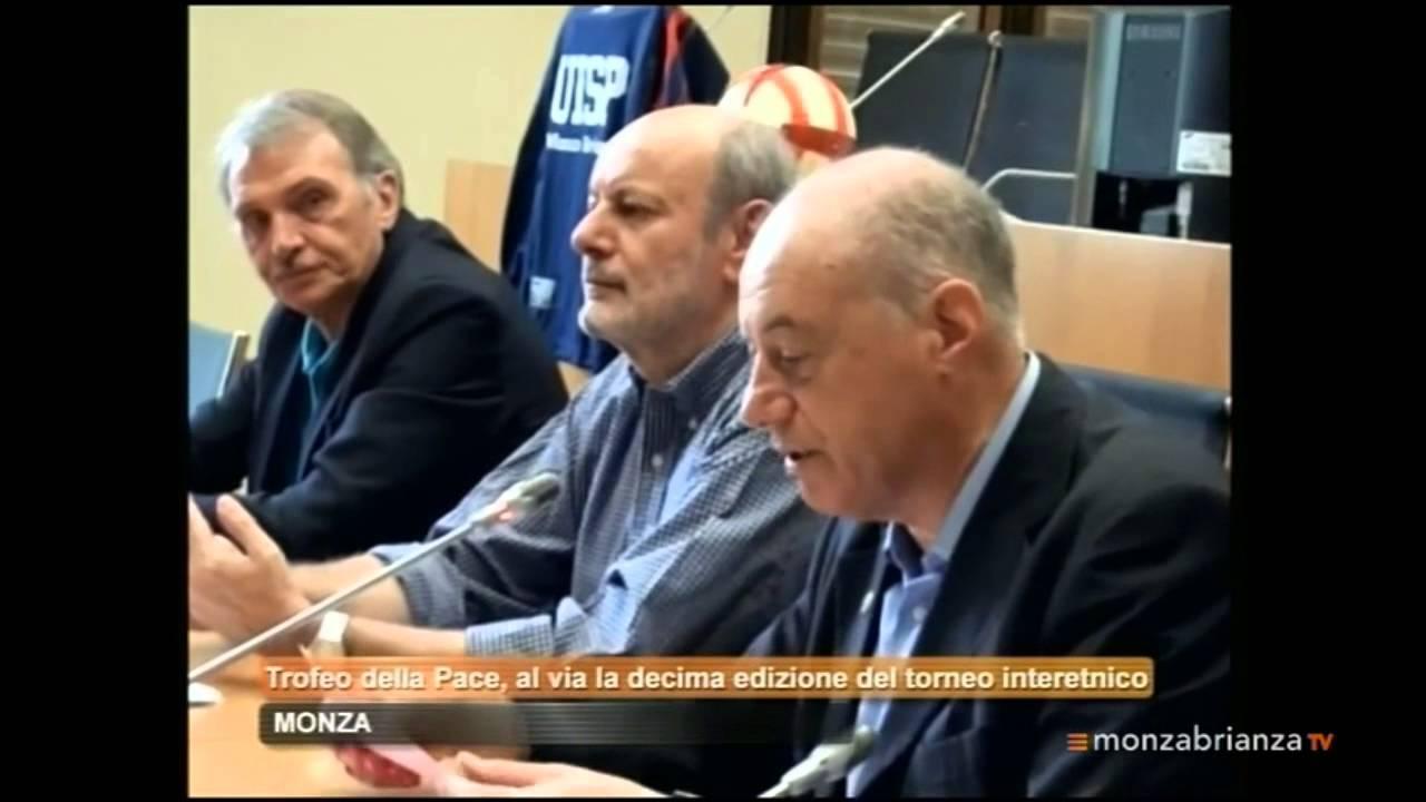 Trofeo della Pace 2015: presentazione nel TG Monza Brianza tv - YouTube