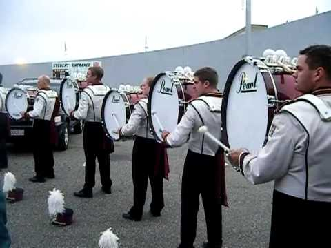UMass Drumline Alumni Day 2009