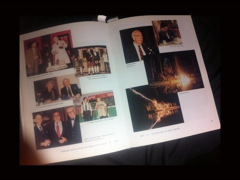 "The Annals of Bohemian Grove ""Yearbook"" Uncovered - Rare Book and Photos Inside Elite Club"