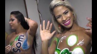 As dançarinas da Banda no Stylo que arrazaram na Micareta de Feira 2017