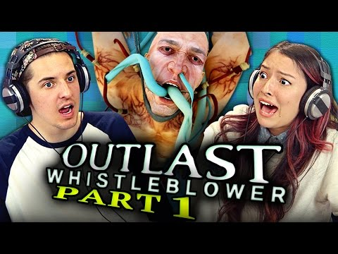 GOING MENTAL - OUTLAST: Whistleblower - Part 1 (REACT: Gaming)