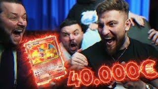 😍🥵Wir ZIEHEN das 40.000€ HOLO GLURAK! BESTE POKÉMON KARTE im BASE SET