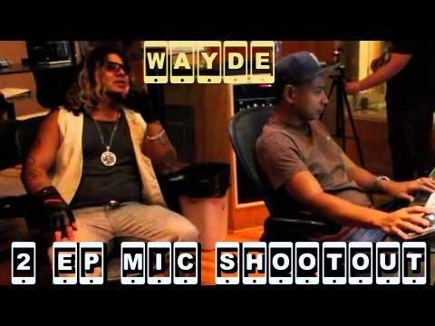 WAYDE - Mic Test (Feat. STE) Sony C800G/AKG/Neumann